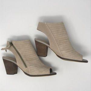 Bella Vita Kalista Peep Toe Ankle Sandal Bootie